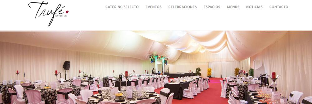 Nueva web Trufe catering selecto