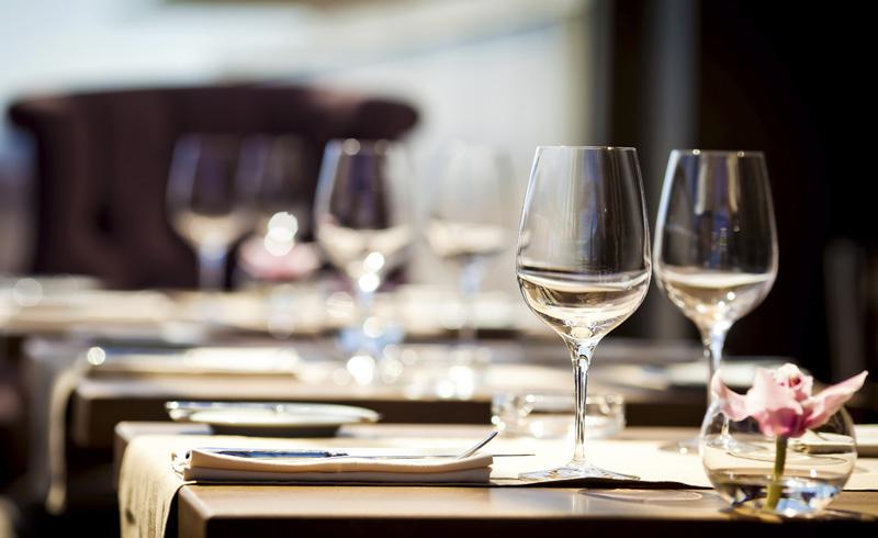 Mesa del restaurante Trufe Paraninfo